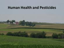 Human Health and Pesticides tutorial photo