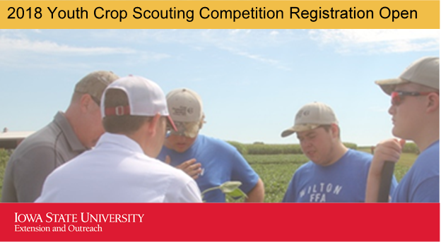 Photo of youth at the 2017 Crop Scouting Competition