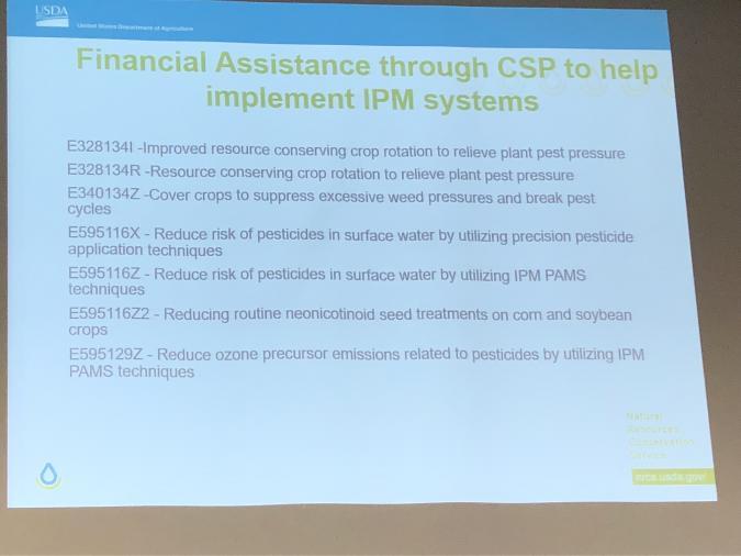 USDA cost sharing grant programs