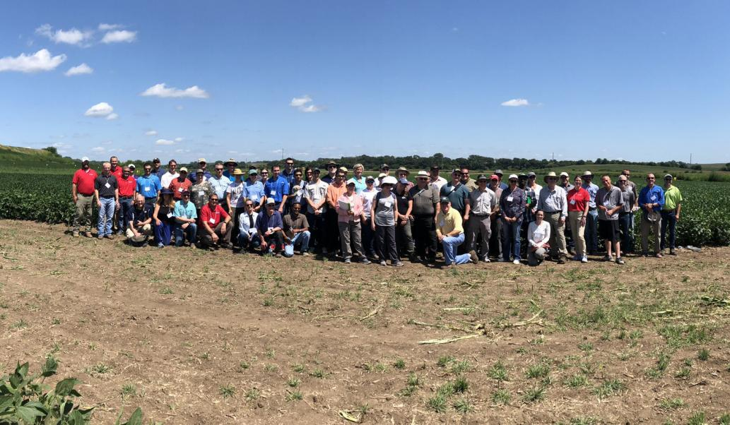 Over 70 stakeholders from ag-industry, academics, researchers and advocacy groups participated in the tour.