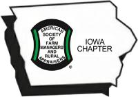 Iowa Chapter of the American Society of Farm Managers and Rural Appraisers logo